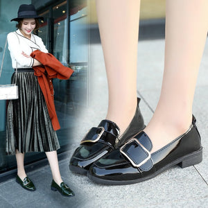 New Style Single Shoe Han Version Of The British Autumn Loafer Shoes English Autumn Loafers