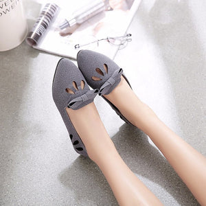 Summer Women's Shoes Shallow-Mouth Version Of A Small Single Shoes With Flat Shoes