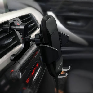 Qi Wireless Car Charger for iPhone X 8 8 Plus Phone Car Holder Fast Charger