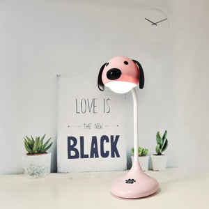 Hot Sale Explosion Models Creative Cartoon Dog Colorful Led Night Light with USB Led Decorative Lights