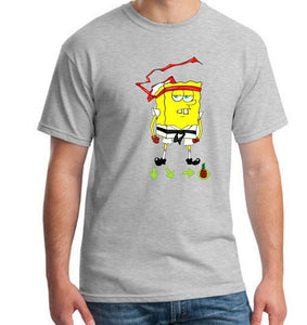 Boy Natural Cotton Tshirt Short Sleeve Brand New Men Tshirt Squidward I Hate Mondays - SpongeBob SquarePants