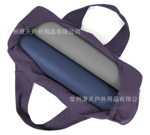 Large Size Canvas Yoga Bag With Single Shoulder Yoga Mat Collection
