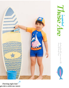Kids Swimwear Boy Child For Children's New Children Cuhk 28036 At Animal Polyester Sierra Surfer