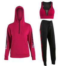 New Bodysuit Women's Long-Sleeve Hooded Sweatshirt With A Large Size Yoga Suit