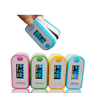 Medical Rate Tester Finger Pulse Oximeter Home Blood Oxygen Tester Saturation Home Monitor