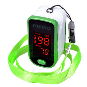 Nail pulse oximeter Household Oxygen saturation monitor Finger pulse heart rate meter