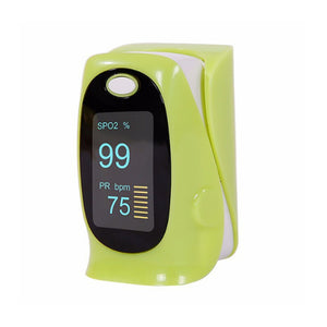 OLED English Household Medical Finger Pulse Oximeter Oxygen detector