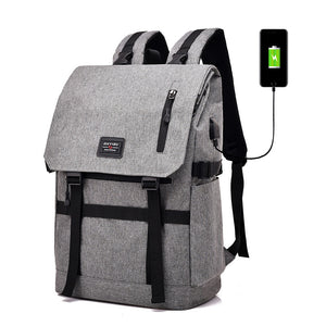 Bluetooth GPS Anti-theft Outdoor Backpack with External USB Port