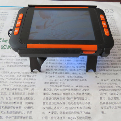 Portable 2X-32X Electronic Magnifier 3.5