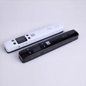 andheld Portable Scanner A4 Size Document Scanner 1050DPI JPG/PDF Support 32G TF Card Zero Margin High Speed Mini Scanner