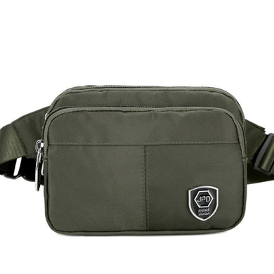 New Spring Fanny Pack For The Leisure Nylon Military Green Men's Fanny Pack