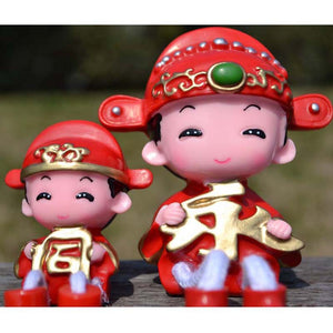 Hot - selling Chinese eternal knot concentric wedding dolls craft setting student friends gifts
