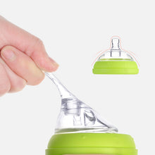 Baby Bottle Nipple Handle Silicone Protective Cover Infant Glass Nursing Bottle Baby Food Milk Feeding Bottle 150ml