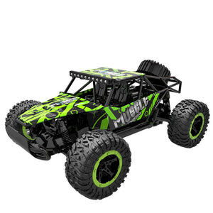 2018 New Cool Shape Off-road Vehicle Toy 1/16 Scale 2.4Ghz 4 Wheel Drive Car Remote Control RC Car Toy for Children Best Gifts