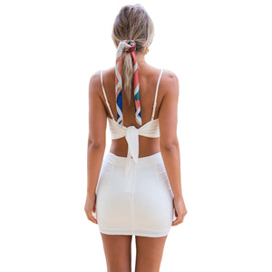 Summer women leisure suit suspender camis top short pants button decoration lady female green white two piece set
