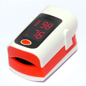 Household Health Monitors Oximeter CE Medical Heart Rate Monitor LED Fingertip Pulse Oximeter Finger Blood Oxygen