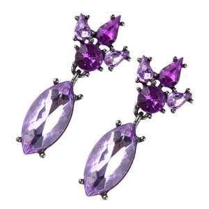 Colorful Rhinestone Imitation Pearl Butterfly Bow Stud Earrings for Women Brincos
