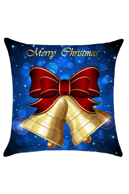Christmas Jingle Bell Stylish Cushion Cover