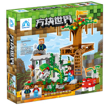 Qunlong-0519 Minecrafted Building Blocks Compatible Legoe City Action Figures Blocks Set Educational Kids Boy Girl Toy