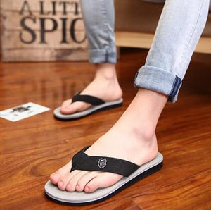 Summer Slippers Flip Flop Men Outdoor For Casual Walking Cool Slippers Beach Man (1 pair)