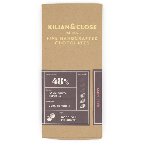 Killian & Close hazelnoot bean to bar chocolade
