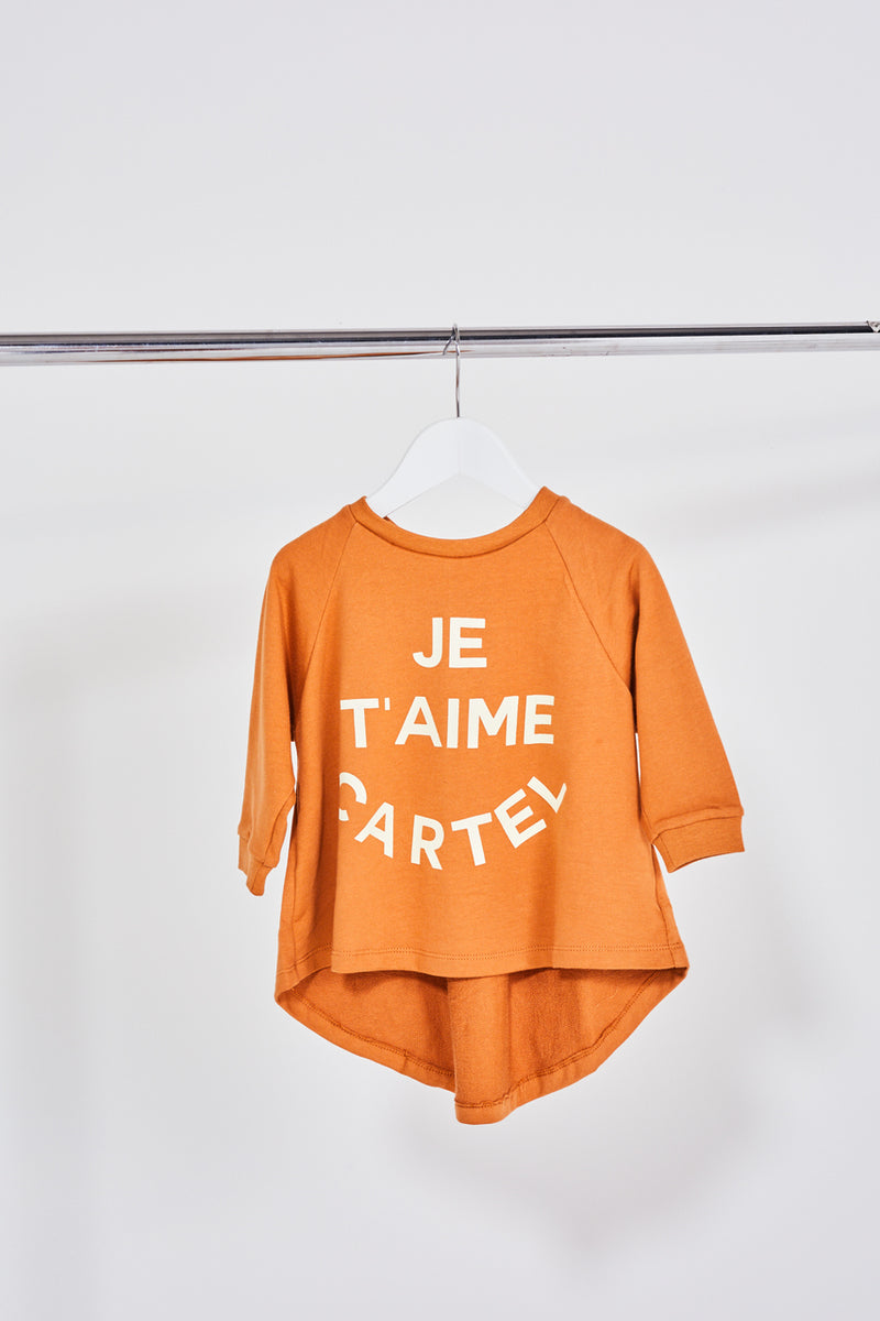 MINI Je Taime Sweater - Rust