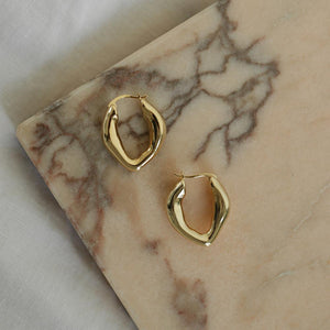 Rosa Hoops - Gold