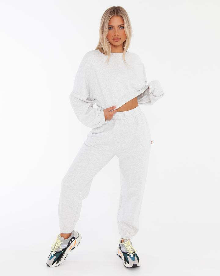 90's Jogger - Light Marle