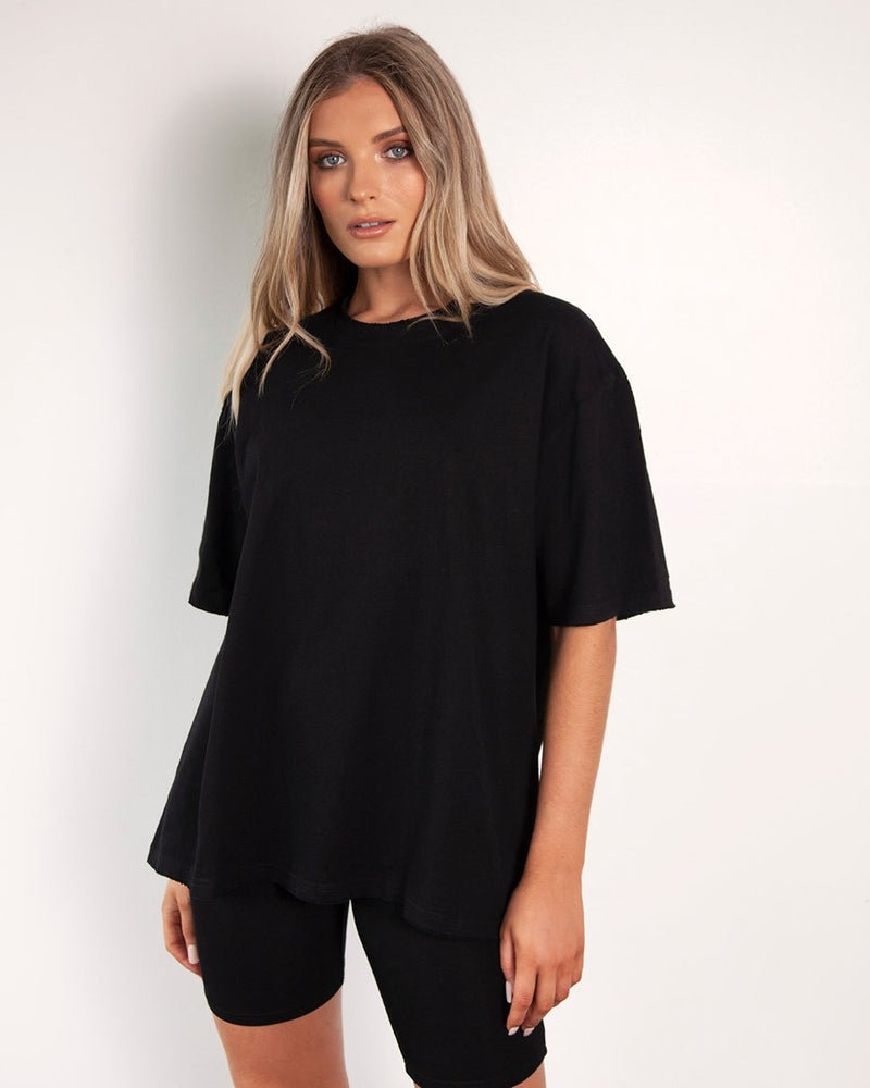 Boyfriend T-Shirt - Black