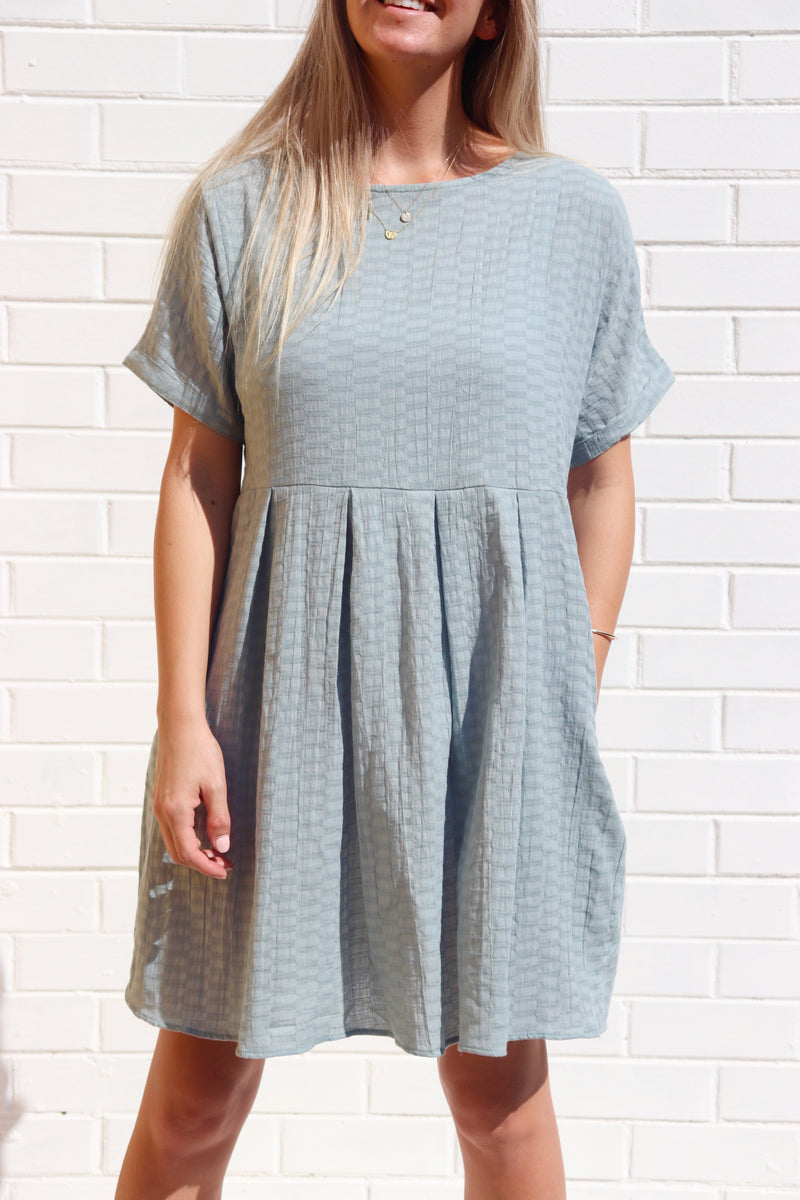 Lola Shift Dress - Moss