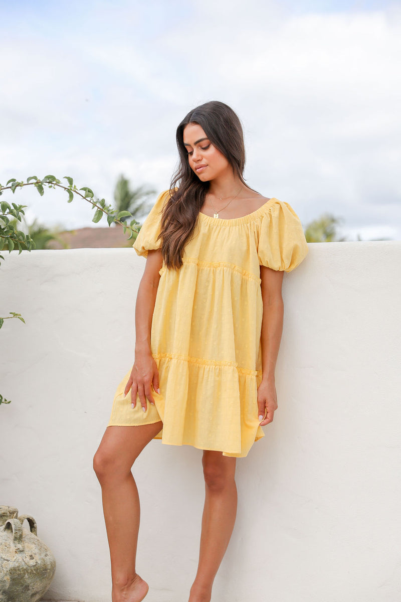 Hayley Tiered Maxi Dress - White
