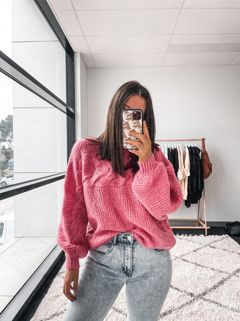 Coco Knit - Pink