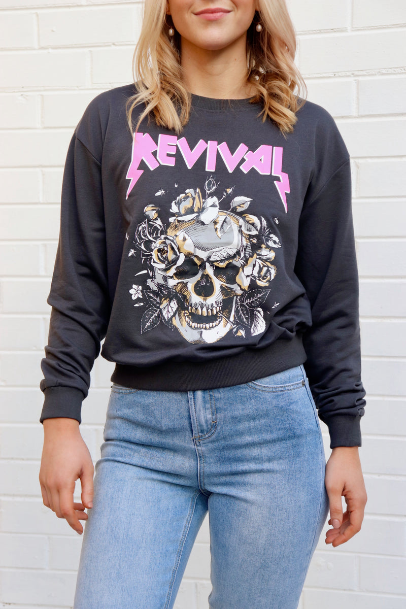 Revival Sweater - Washed Back