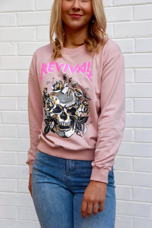 Revival Sweater - Blush