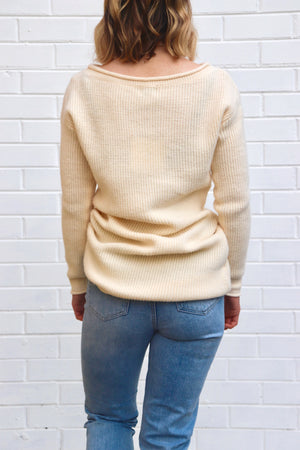 Meg Knit - Cream