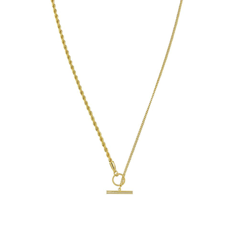 Nia Chain Necklace - Gold