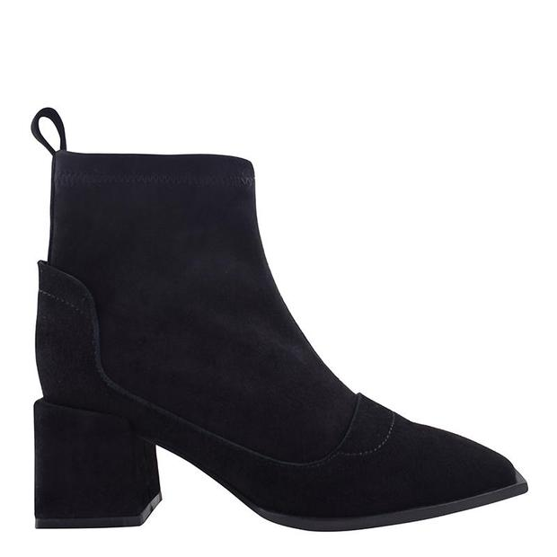 Nevada Boot - Black Suede