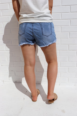 Salt Water Denim Short