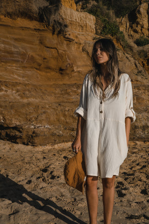 Cove Playsuit - Butter