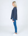 Mosman Long Sleeve Tee - Indigo
