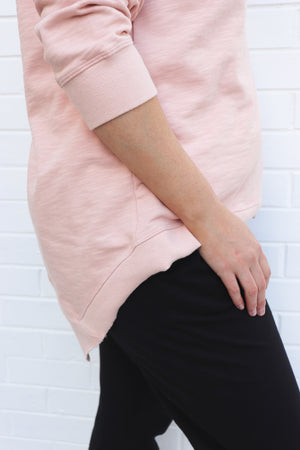 CURVE Newhaven Sweater - Blush Marle
