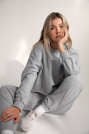 Sweater - Grey Marle