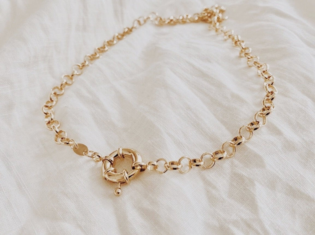 Chunky Rolo Chain - Gold