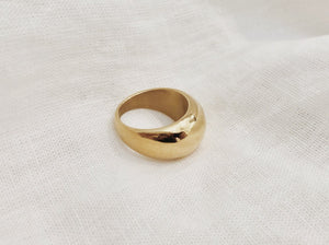Chunky Dome Ring - Gold