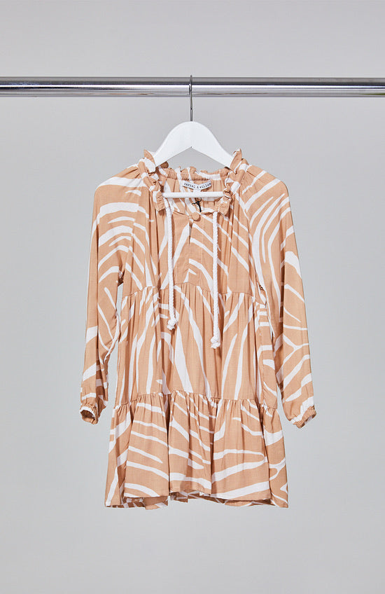 MINI Cali Dress - Blush Zebra