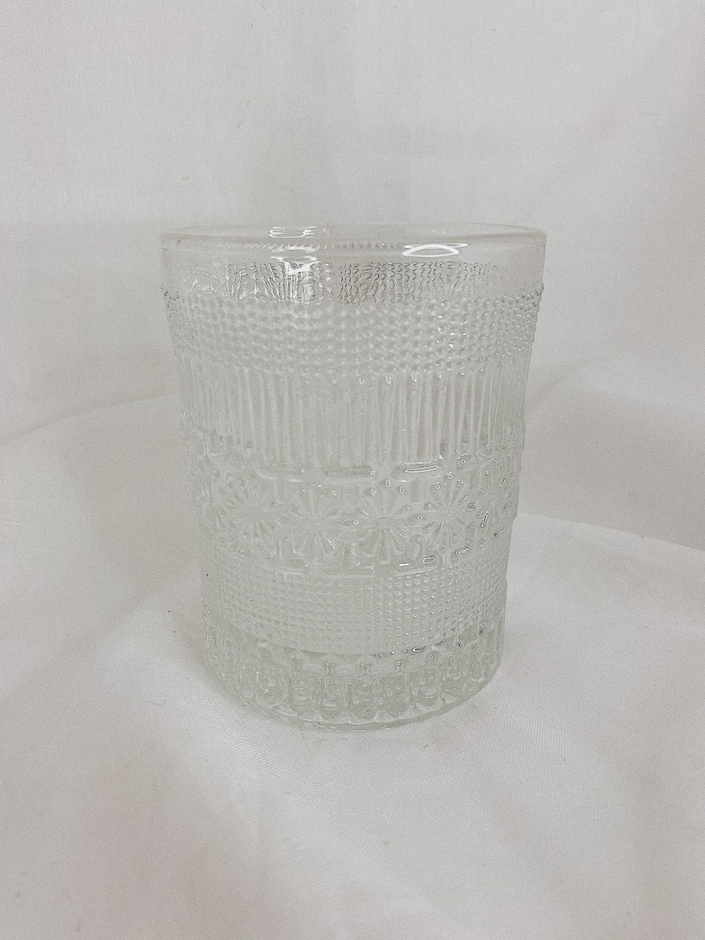 Detailed Short Glass - set of 2