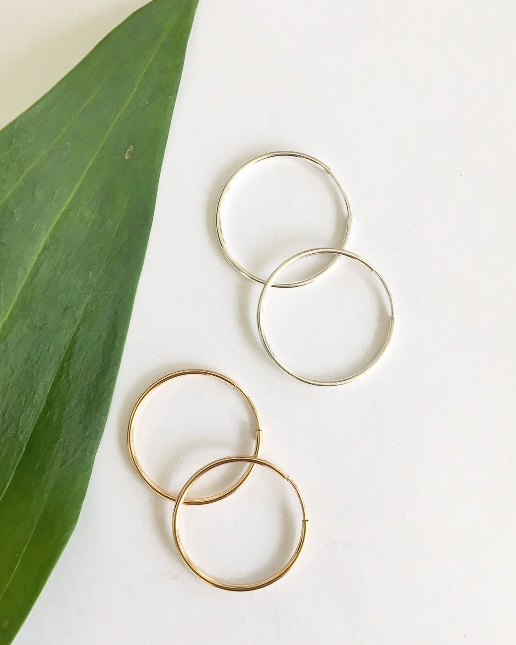 Perfect Medium Hoops - Gold