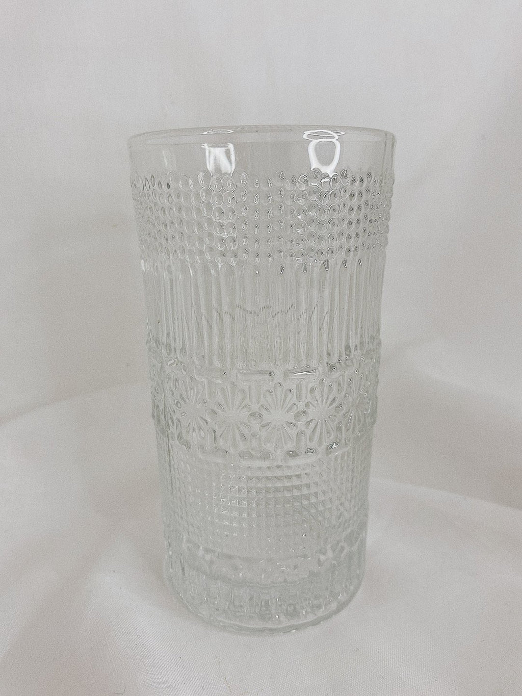 Detailed Tall Glass - set of 2