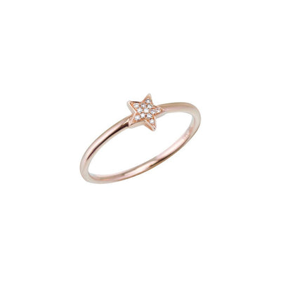 18 ct Star Ring