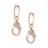 18 CT CLASP EARRINGS